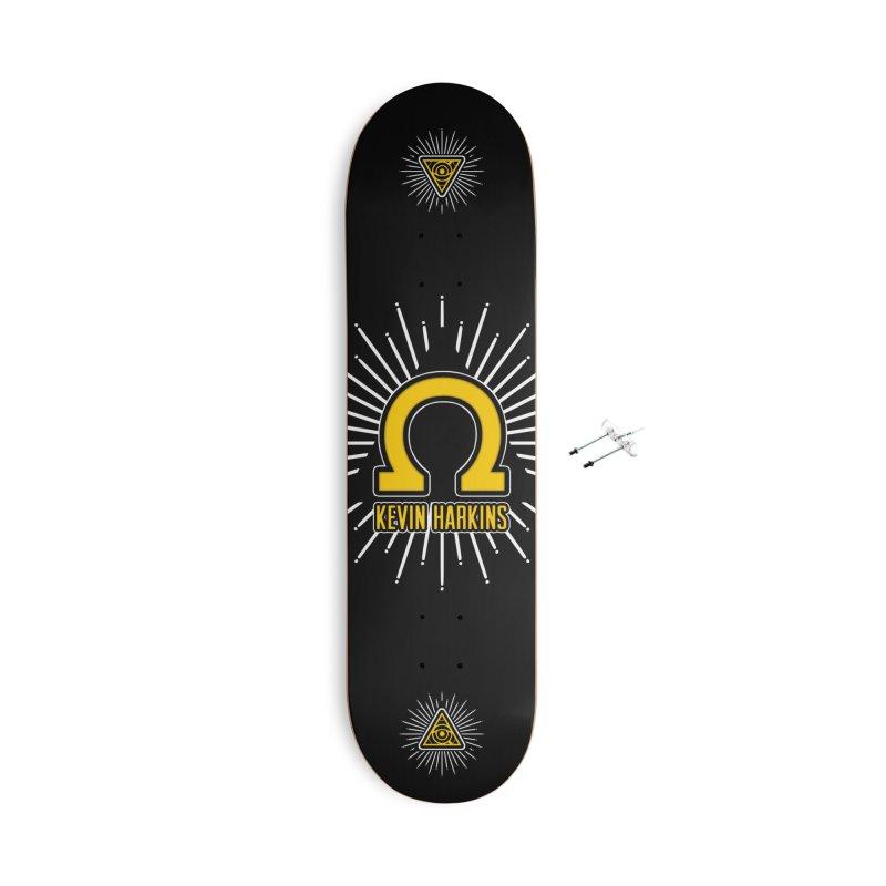Omega Yellow - Kevin Harkins Pro Model - Skateboard Accessories Skateboard by 90FIVE