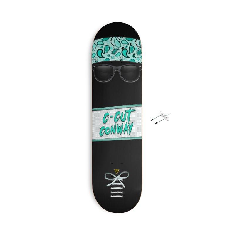 OG Wayfarer - C-Cut Conway Pro Model - Skateboard Accessories Skateboard by 90FIVE