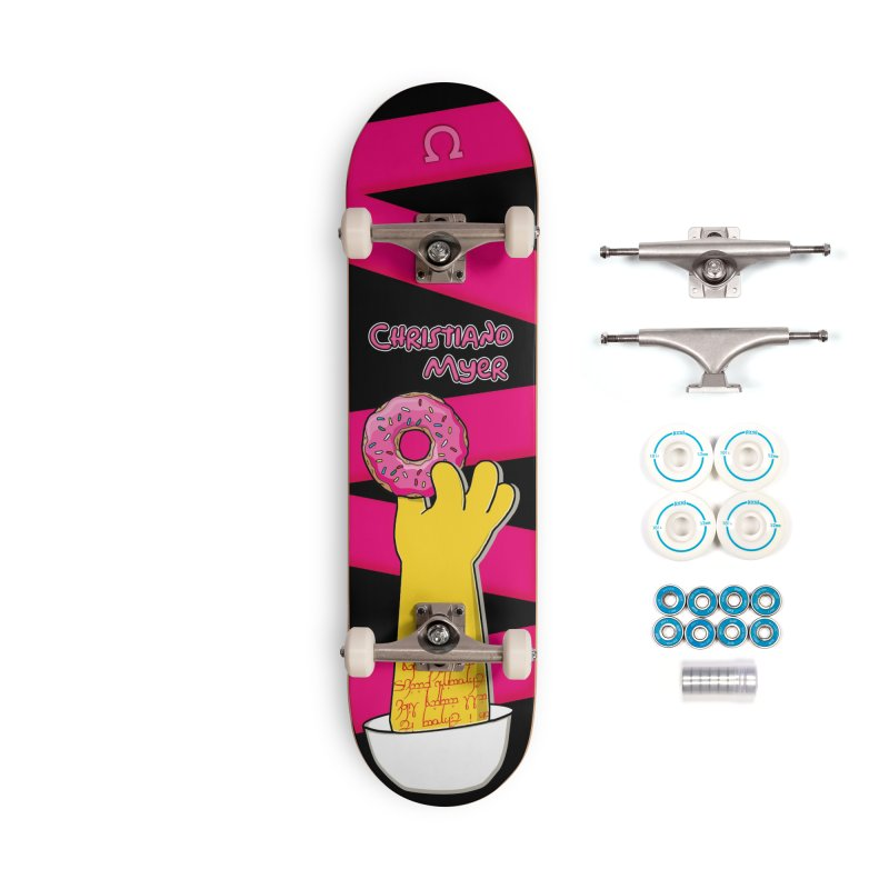 Hand Me A Doughnut - Christiano Myer Pro Model - Skateboard Accessories Skateboard by 90FIVE