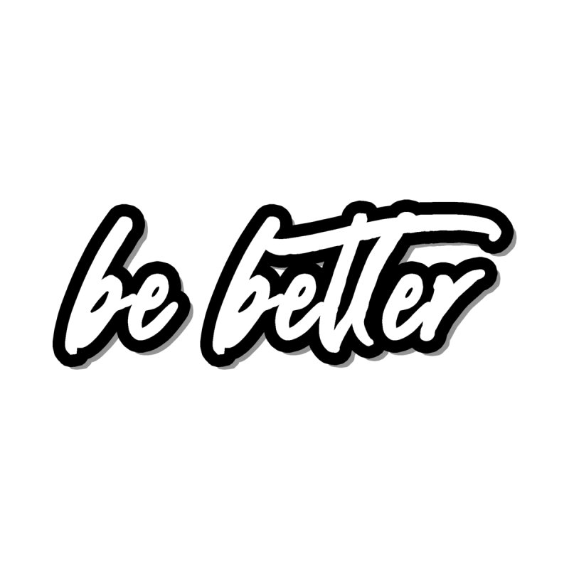 Be Better - Light Accessories Zip Pouch by 90FIVE