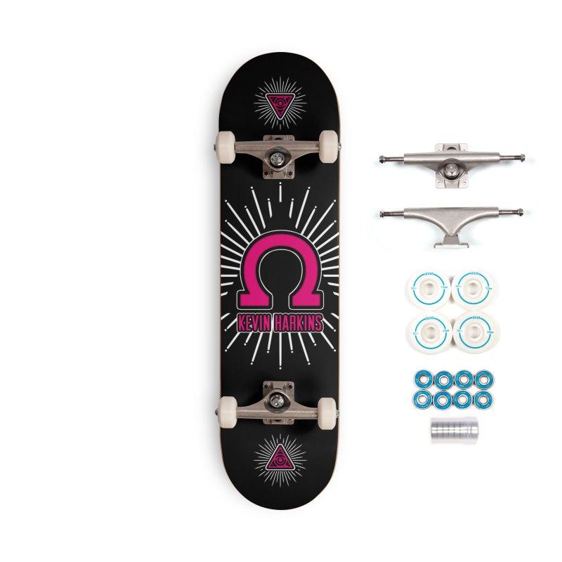 Omega Pink - Kevin Harkins Pro Model - Skateboard Accessories Skateboard by 90FIVE