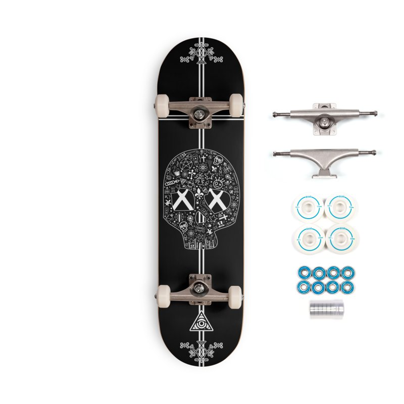 Under Your Voodoo - Skateboard Accessories Skateboard by 90FIVE