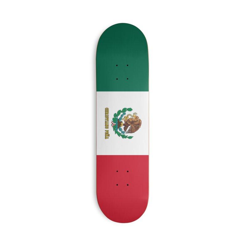 Viva Mexico - Christiano Peña Pro Model Skateboard Accessories Skateboard by The 1984 Society