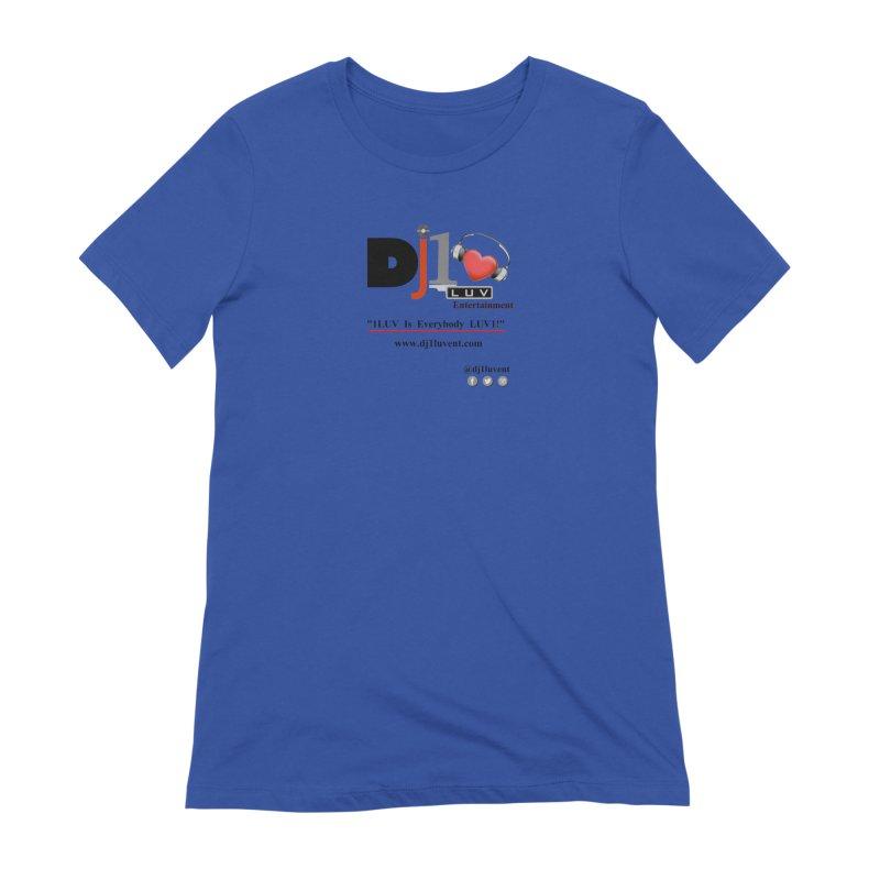 DJ1LUV Merch Women's Extra Soft T-Shirt by 1LUVMerch's Artist Shop