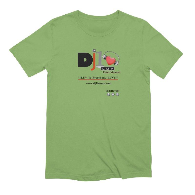 DJ1LUV Merch Men's Extra Soft T-Shirt by 1LUVMerch's Artist Shop