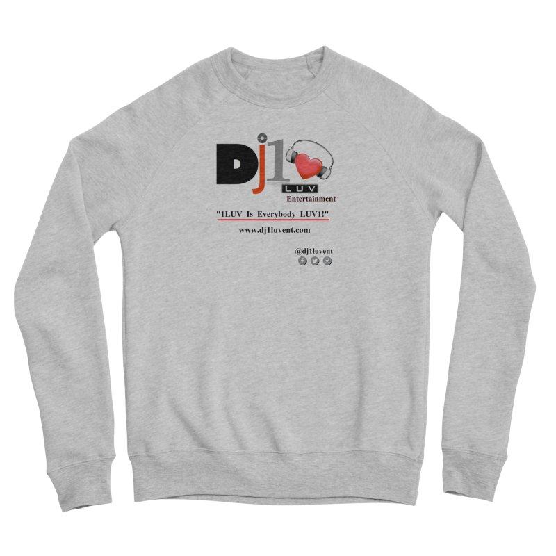 DJ1LUV Merch Men's Sponge Fleece Sweatshirt by 1LUVMerch's Artist Shop