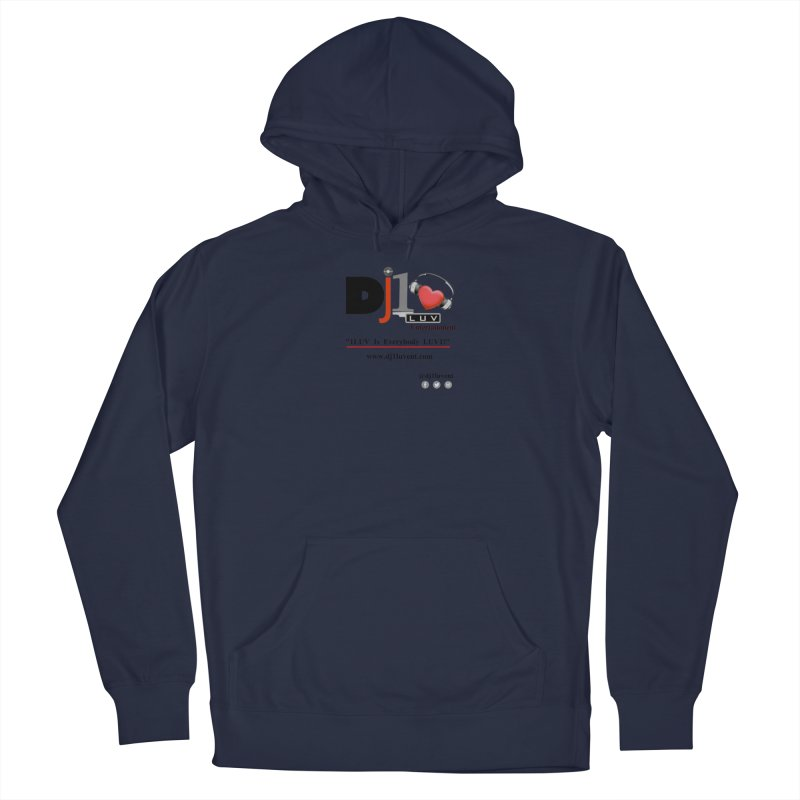 DJ1LUV Merch Men's Pullover Hoody by 1LUVMerch's Artist Shop
