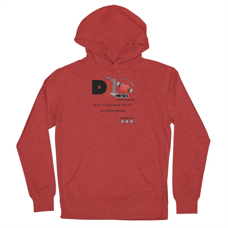 DJ1LUV Merch Women's French Terry Pullover Hoody by 1LUVMerch's Artist Shop