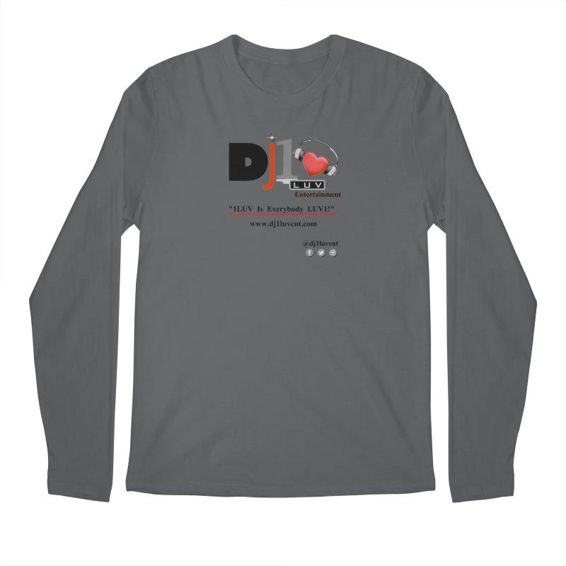 DJ1LUV Merch Men's Longsleeve T-Shirt by 1LUVMerch's Artist Shop