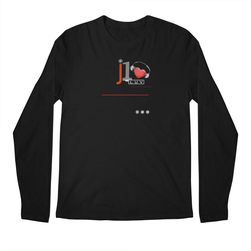 DJ1LUV Merch Men's Regular Longsleeve T-Shirt by 1LUVMerch's Artist Shop