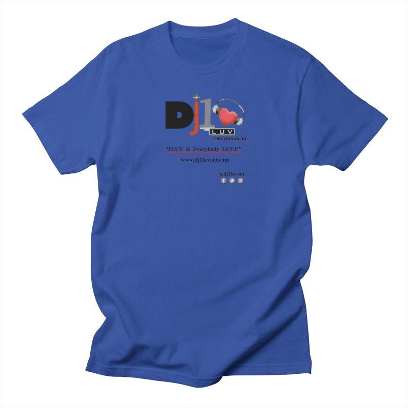 DJ1LUV Merch Men's Regular T-Shirt by 1LUVMerch's Artist Shop