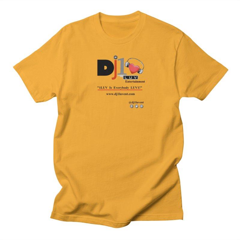 DJ1LUV Merch Women's Regular Unisex T-Shirt by 1LUVMerch's Artist Shop