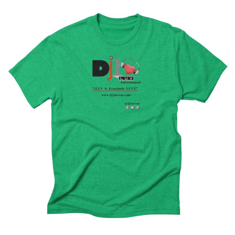 DJ1LUV Merch Men's Triblend T-Shirt by 1LUVMerch's Artist Shop
