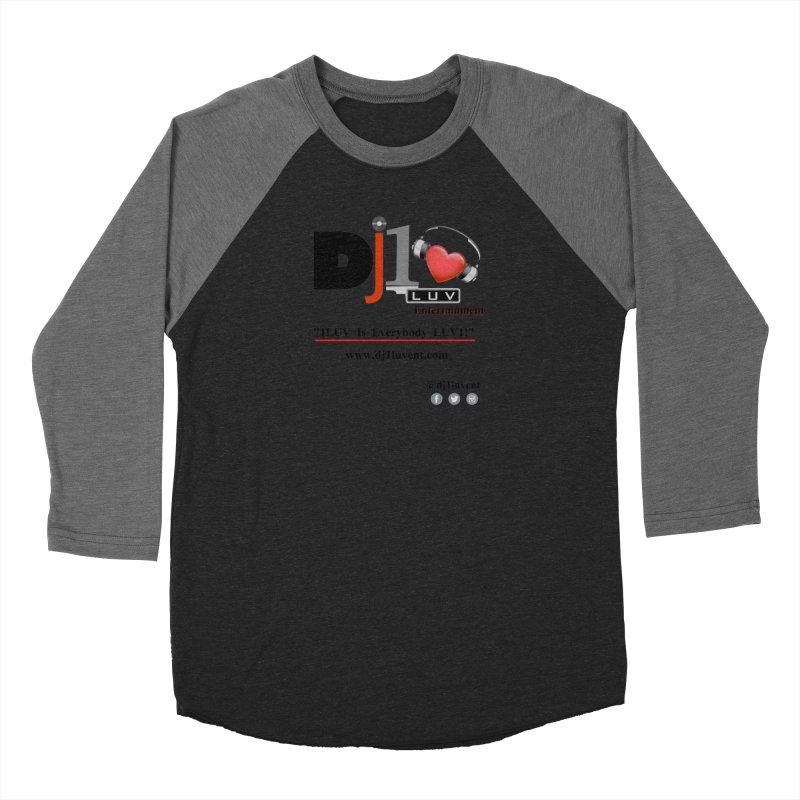 DJ1LUV Merch Women's Baseball Triblend Longsleeve T-Shirt by 1LUVMerch's Artist Shop