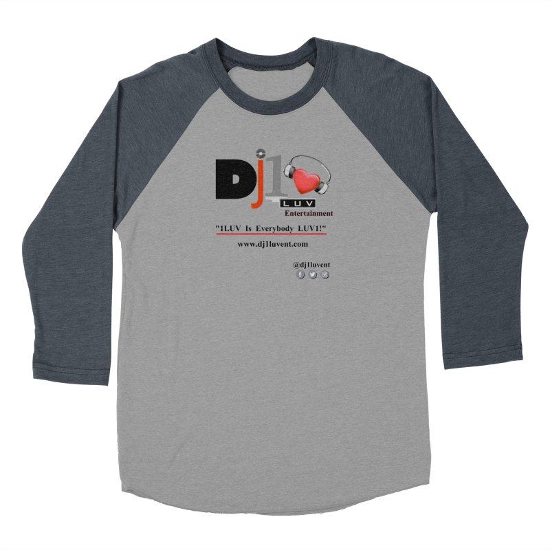 DJ1LUV Merch Men's Baseball Triblend Longsleeve T-Shirt by 1LUVMerch's Artist Shop
