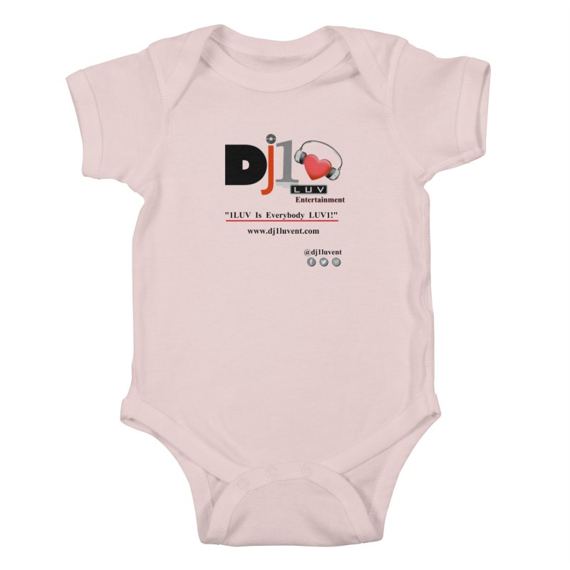 DJ1LUV Merch Kids Baby Bodysuit by 1LUVMerch's Artist Shop