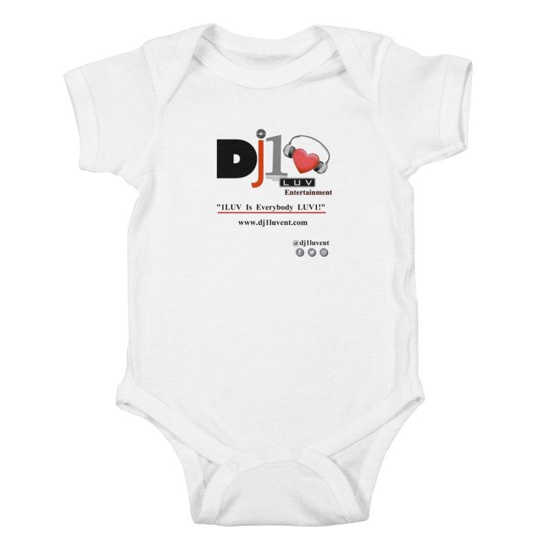 DJ1LUV Merch Kids Baby Bodysuit by 1LUVMerch's Artist Shop