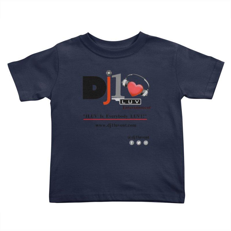 DJ1LUV Merch Kids Toddler T-Shirt by 1LUVMerch's Artist Shop