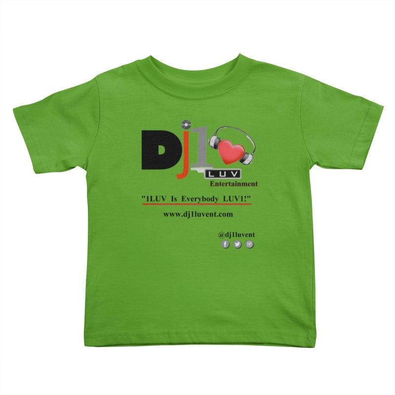 DJ1LUV Merch Kids Toddler T-Shirt by 1LUVMerch's Artist Shop