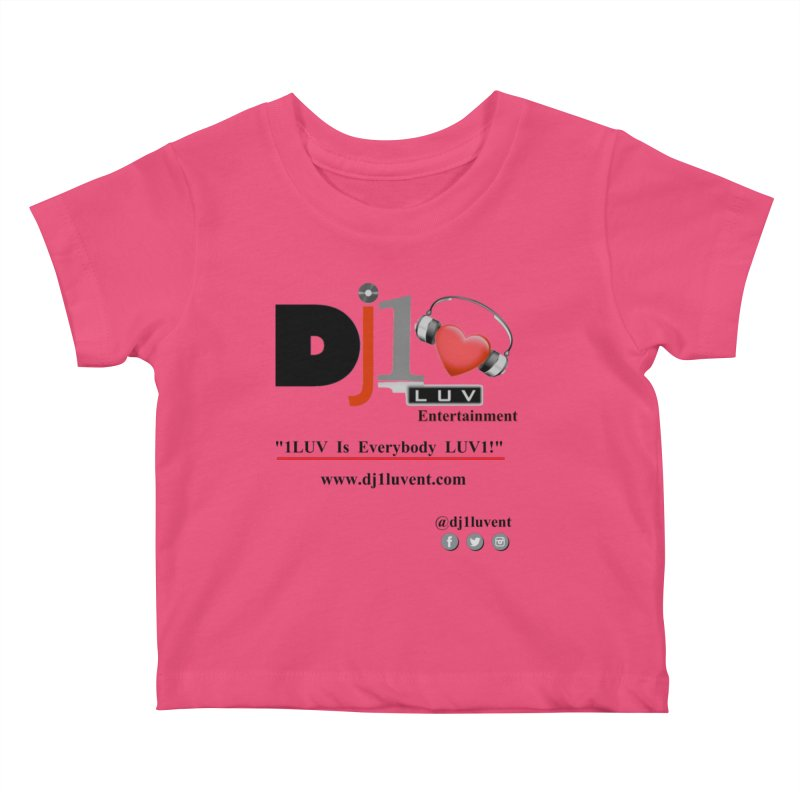 DJ1LUV Merch Kids Baby T-Shirt by 1LUVMerch's Artist Shop