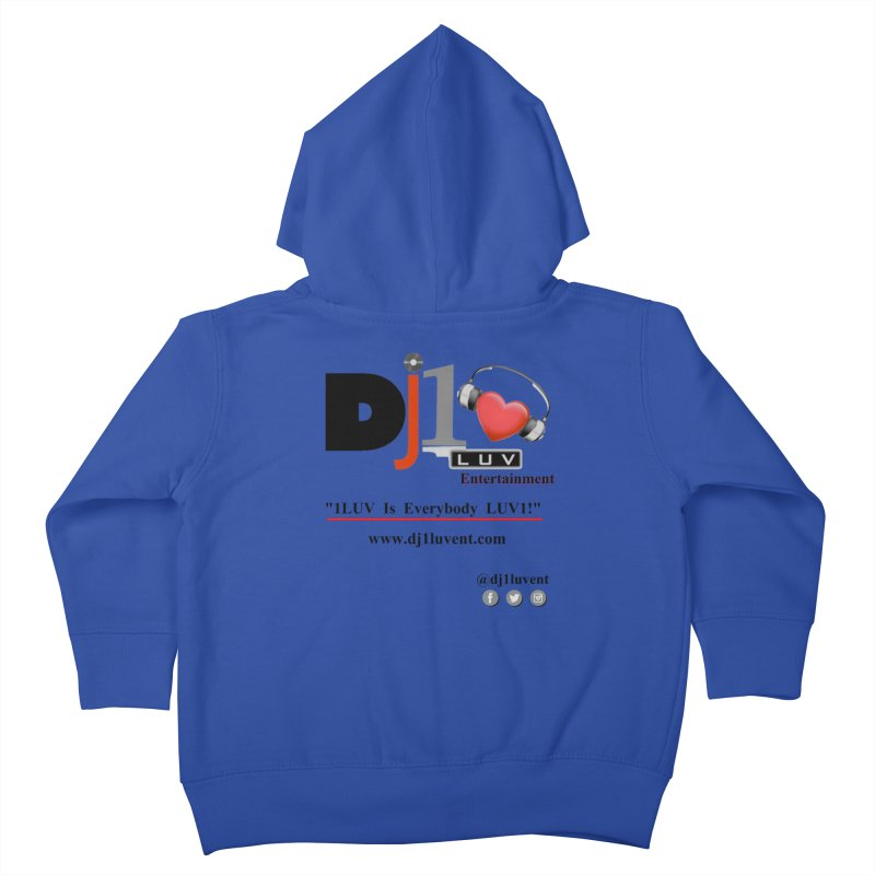 DJ1LUV Merch Kids Toddler Zip-Up Hoody by 1LUVMerch's Artist Shop