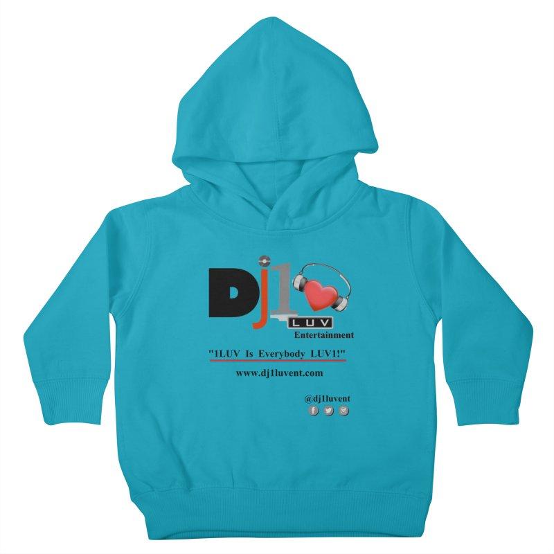 DJ1LUV Merch Kids Toddler Pullover Hoody by 1LUVMerch's Artist Shop