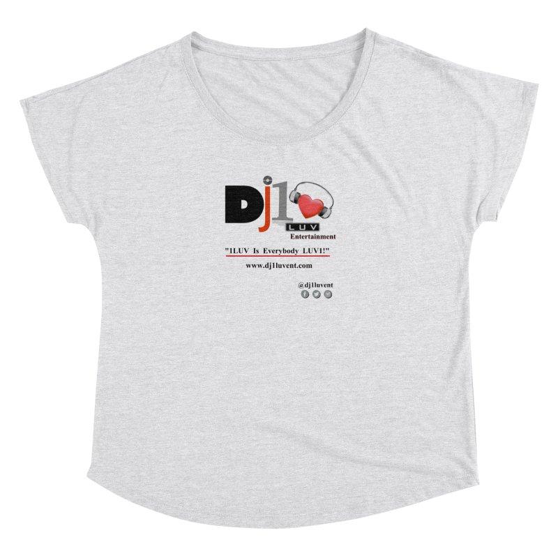 DJ1LUV Merch Women's Dolman Scoop Neck by 1LUVMerch's Artist Shop