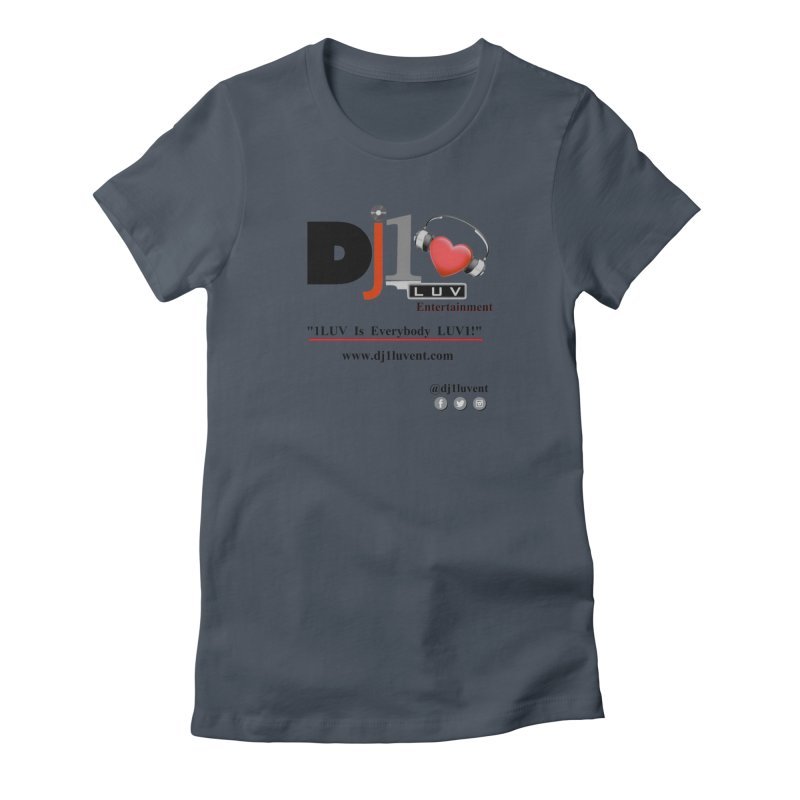 DJ1LUV Merch Women's T-Shirt by 1LUVMerch's Artist Shop