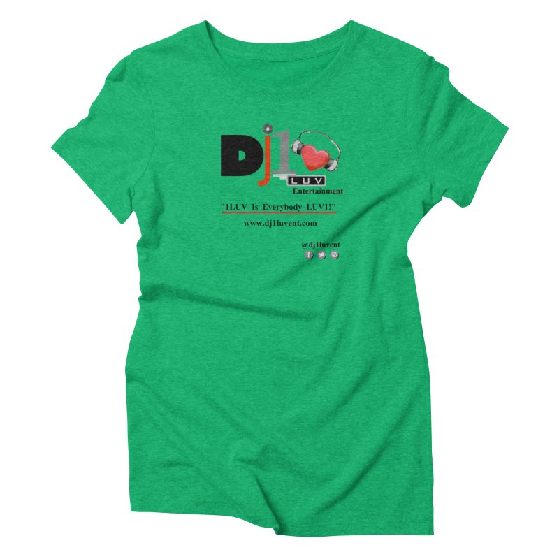 DJ1LUV Merch Women's Triblend T-Shirt by 1LUVMerch's Artist Shop