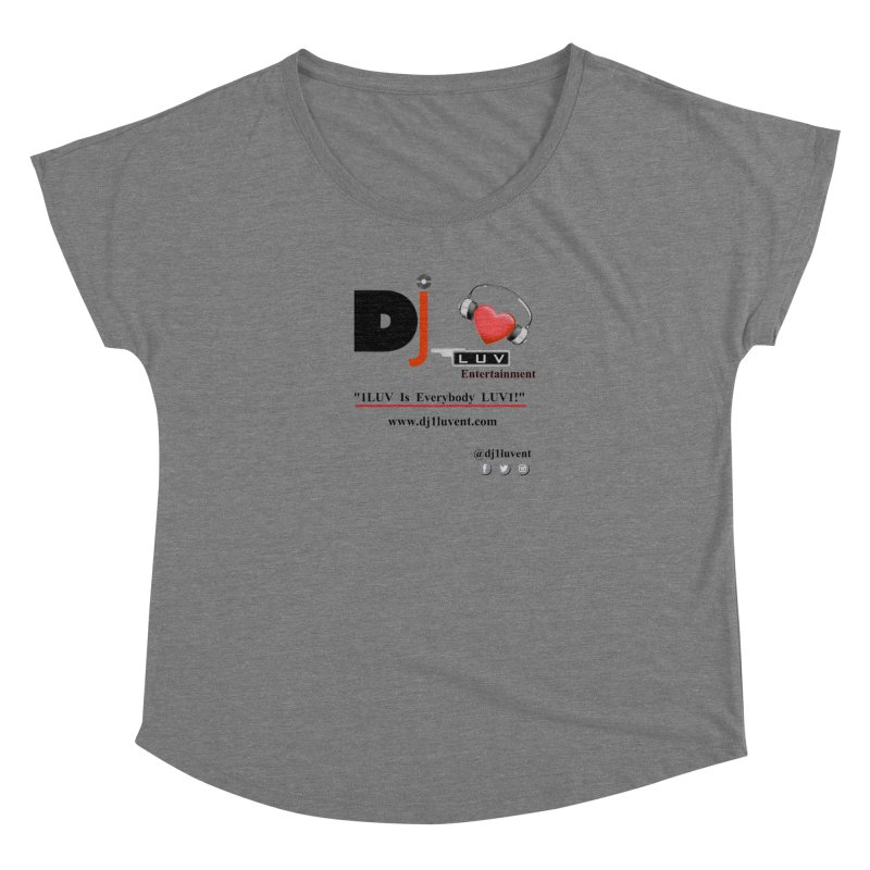 DJ1LUV Merch Women's Scoop Neck by 1LUVMerch's Artist Shop