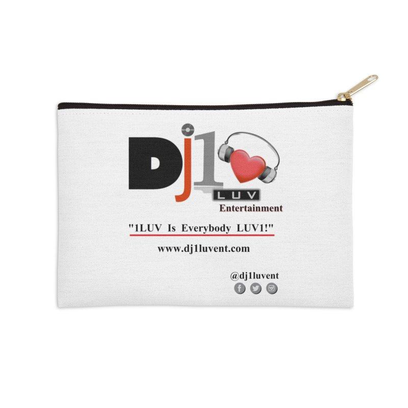 DJ1LUV Merch Accessories Zip Pouch by 1LUVMerch's Artist Shop