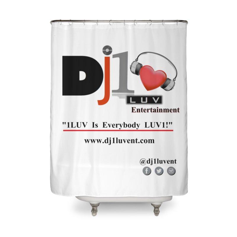 DJ1LUV Merch Home Shower Curtain by 1LUVMerch's Artist Shop