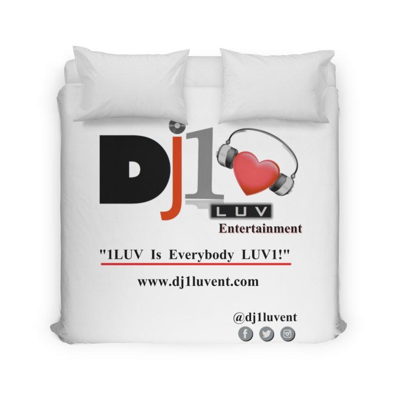 DJ1LUV Merch Home Duvet by 1LUVMerch's Artist Shop