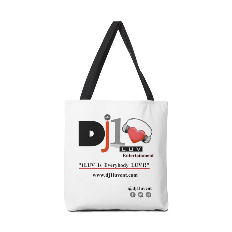 DJ1LUV Merch Accessories Bag by 1LUVMerch's Artist Shop