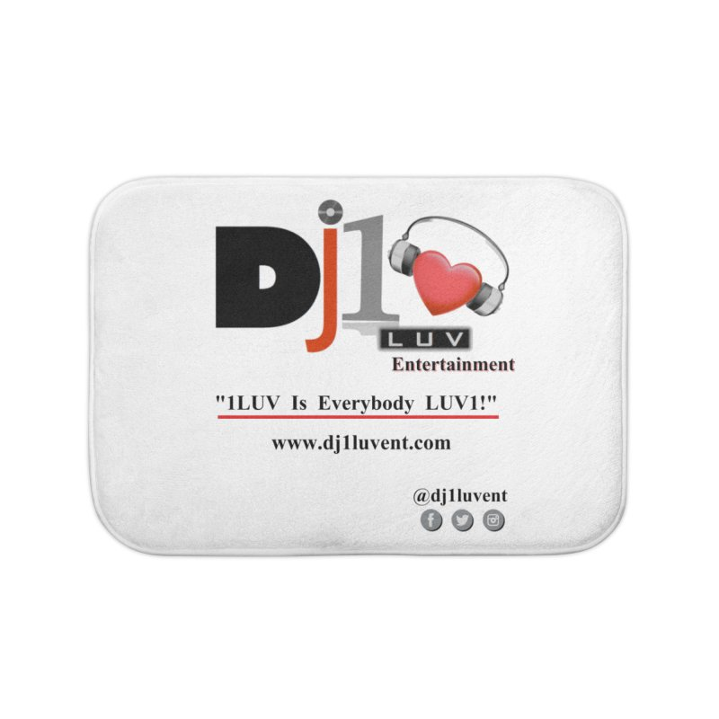 DJ1LUV Merch Home Bath Mat by 1LUVMerch's Artist Shop