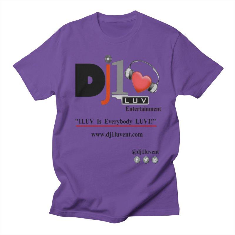 DJ1LUV Merch Men's T-Shirt by 1LUVMerch's Artist Shop