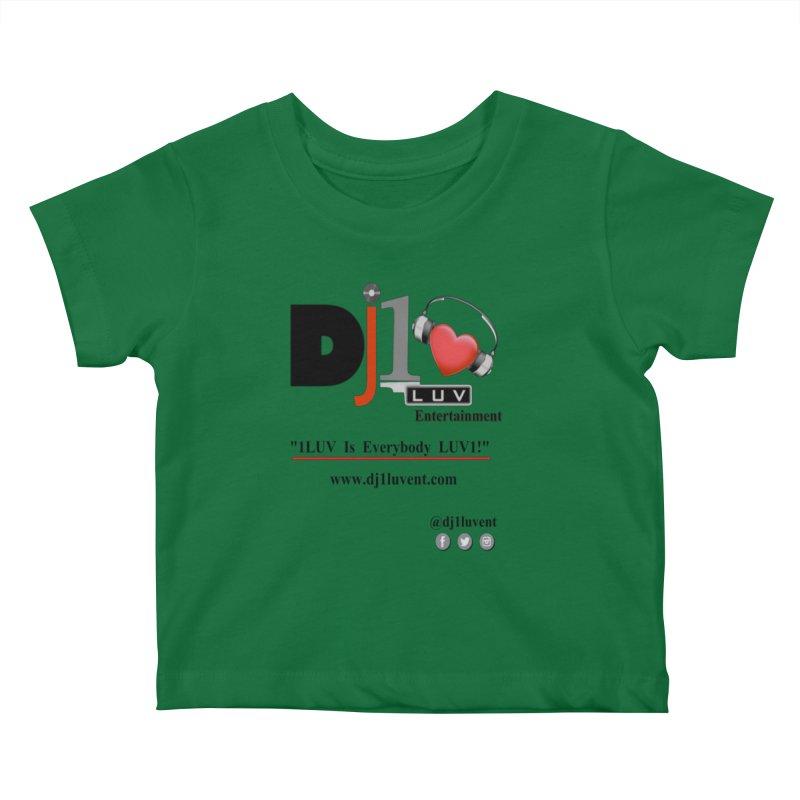 DJ1LUV Merch Kids Baby T-Shirt by 1LUVMerch's Artist Shop