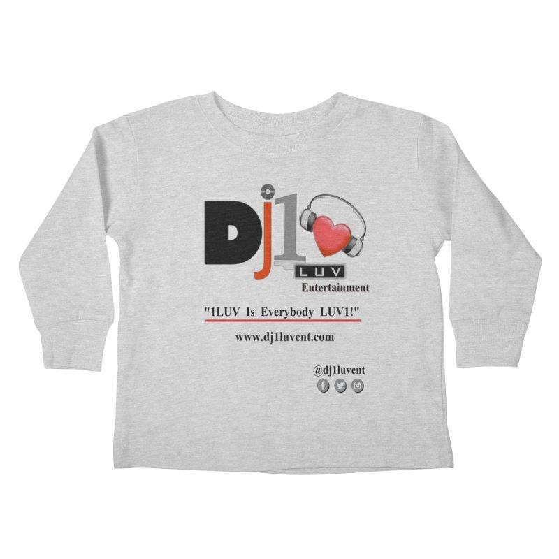 DJ1LUV Merch Kids Toddler Longsleeve T-Shirt by 1LUVMerch's Artist Shop