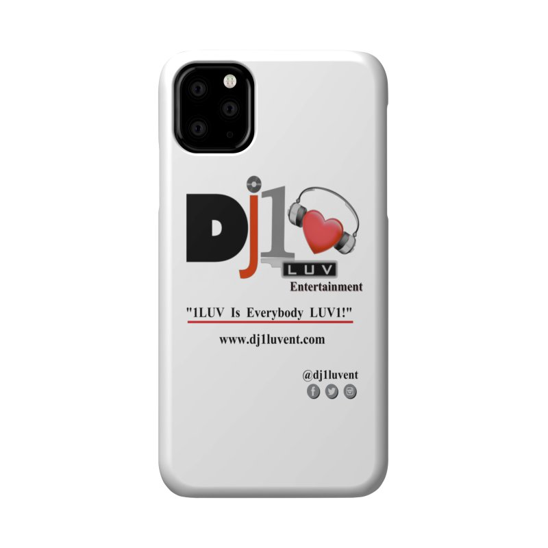 DJ1LUV Merch Accessories Phone Case by 1LUVMerch's Artist Shop