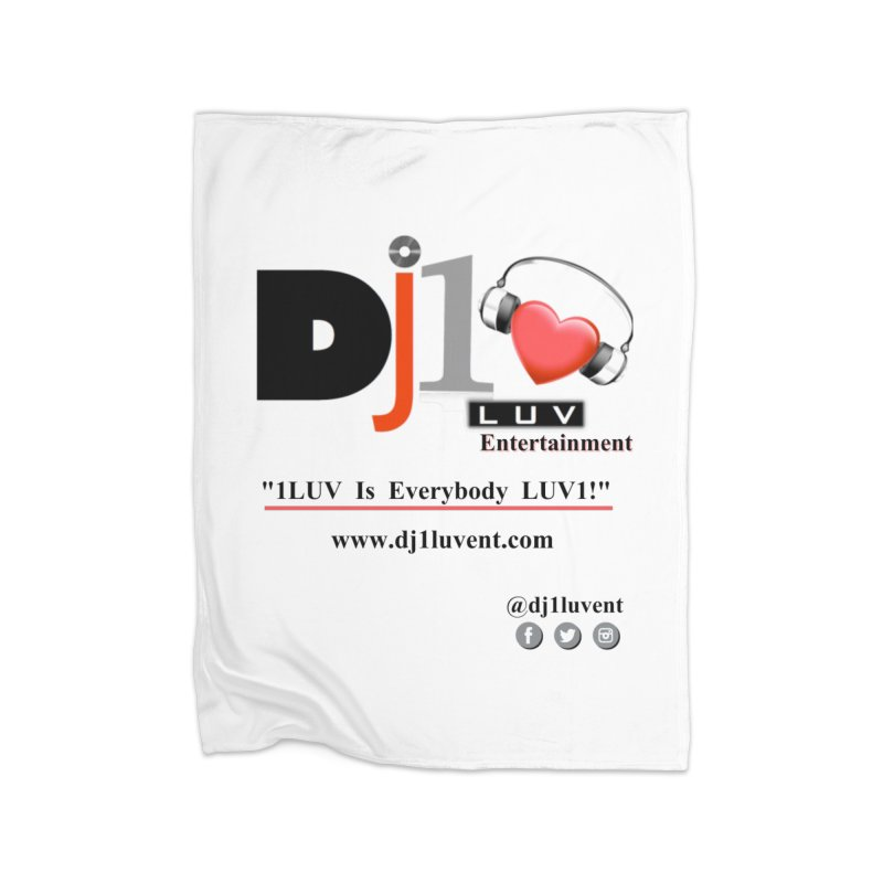 DJ1LUV Home Products Home Fleece Blanket Blanket by 1LUVMerch's Artist Shop