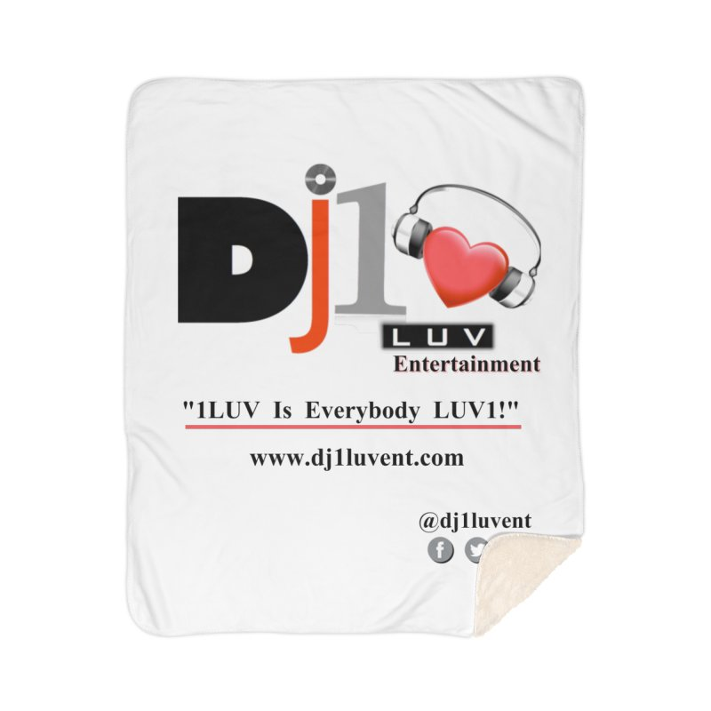 DJ1LUV Home Products Home Sherpa Blanket Blanket by 1LUVMerch's Artist Shop