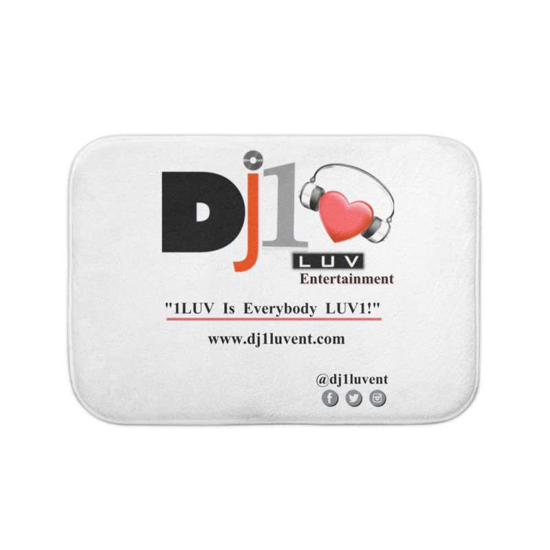 DJ1LUV Home Products Home Bath Mat by 1LUVMerch's Artist Shop