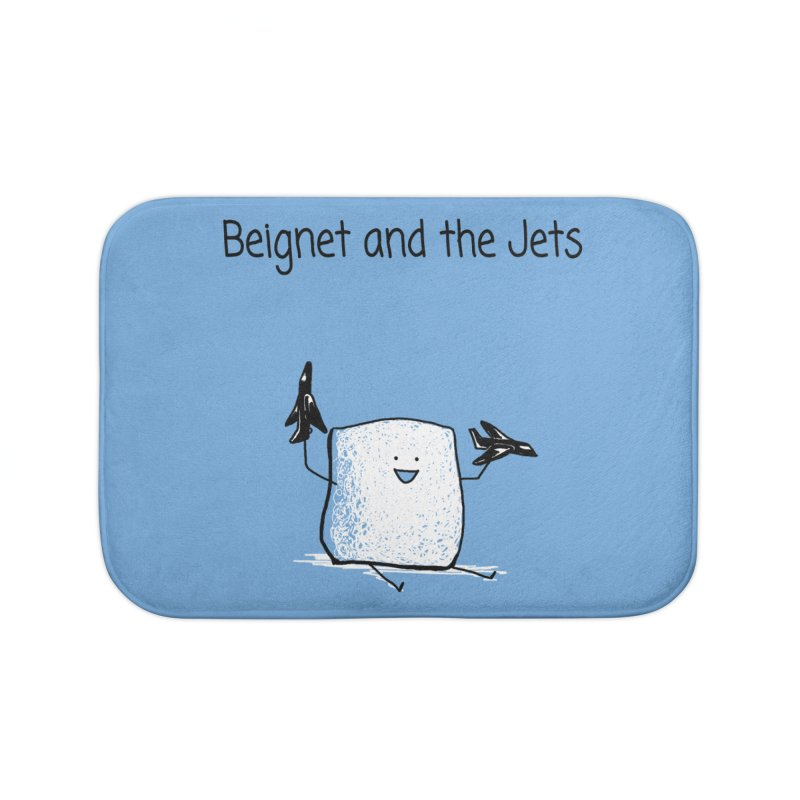 Beignet and the Jets Home Bath Mat by 1 OF MANY LAURENS