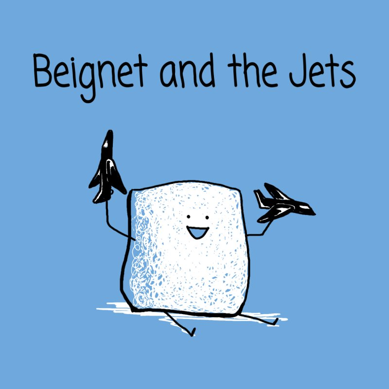 Beignet and the Jets Women's Scoop Neck by 1 OF MANY LAURENS