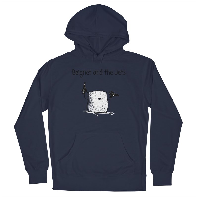 Beignet and the Jets Men's Pullover Hoody by 1 OF MANY LAURENS