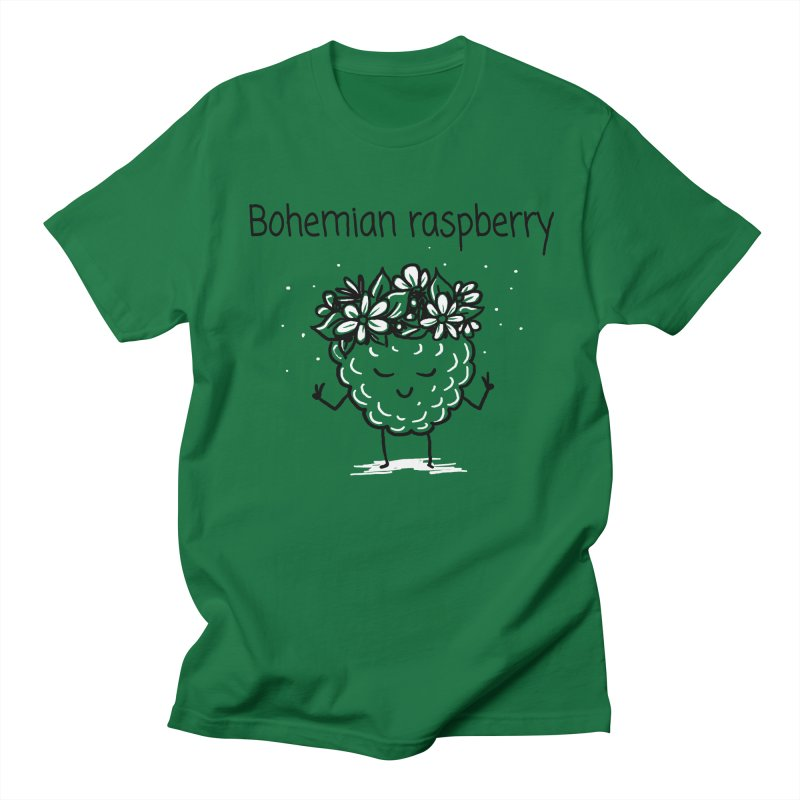 Bohemian raspberry Men's T-Shirt by 1 OF MANY LAURENS
