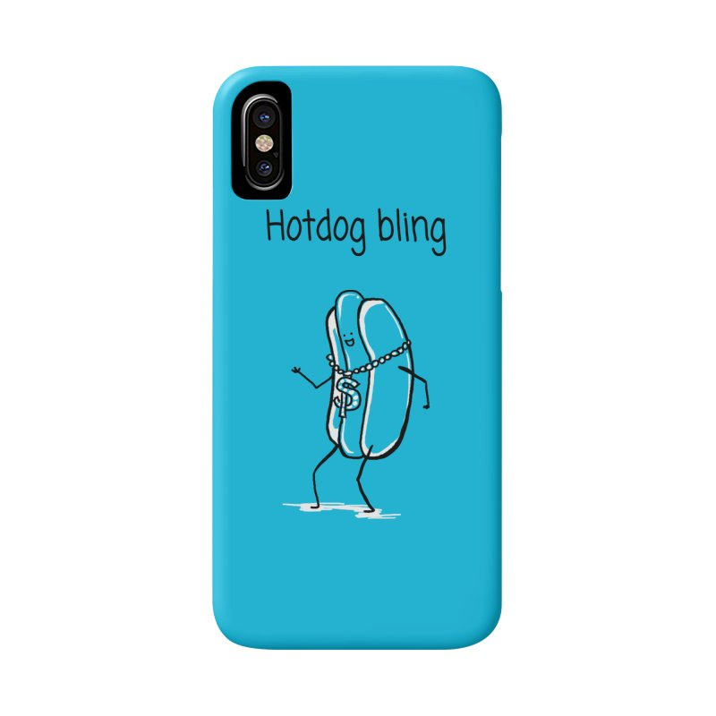 Hotdog bling Accessories Beach Towel by 1 OF MANY LAURENS