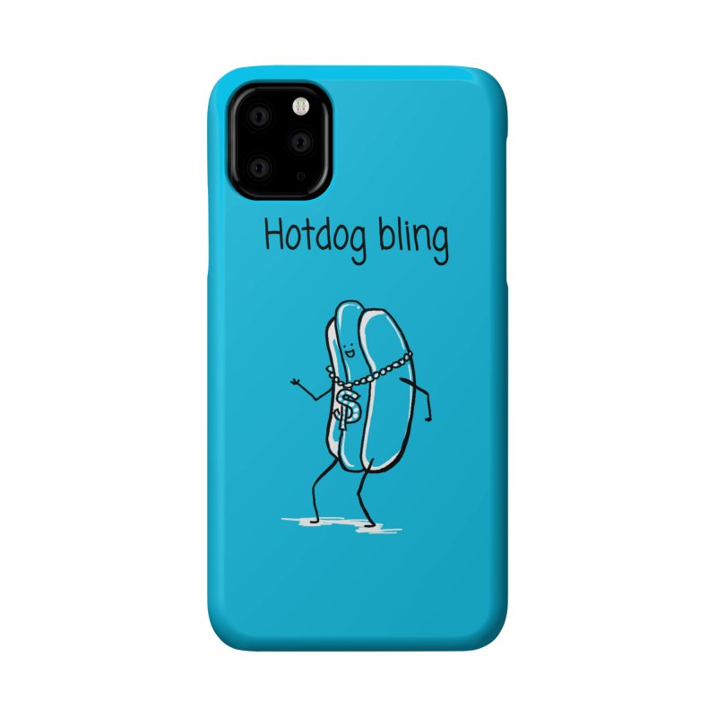 Hotdog bling Accessories Phone Case by 1 OF MANY LAURENS