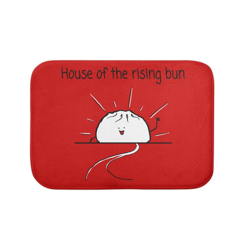 House of the rising bun Home Bath Mat by 1 OF MANY LAURENS