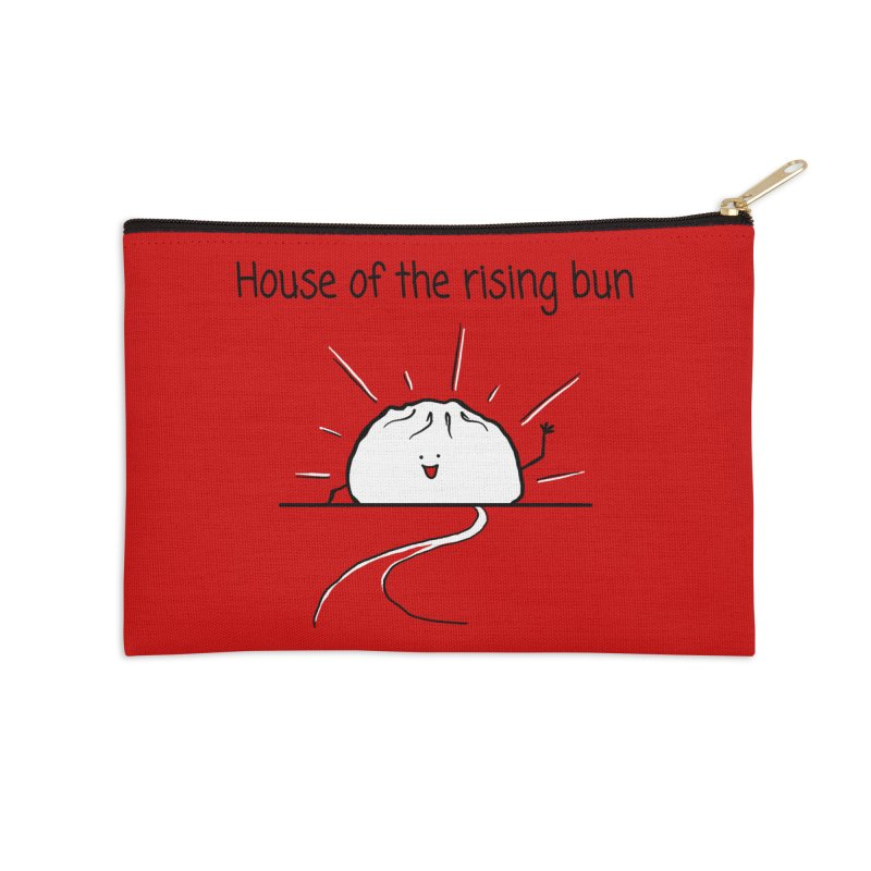 House of the rising bun Accessories Zip Pouch by 1 OF MANY LAURENS